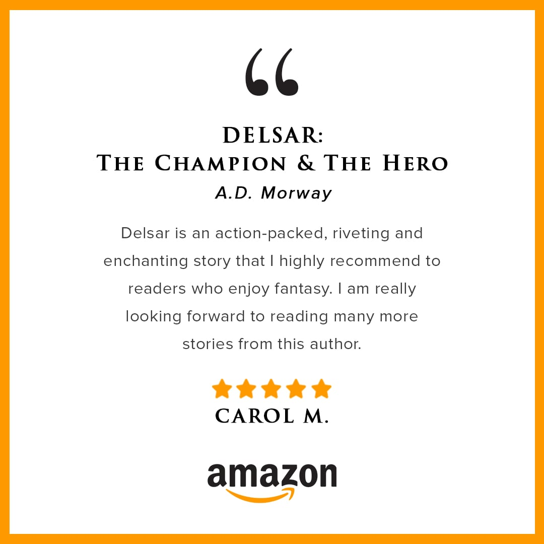 A.D. Morway amazon review