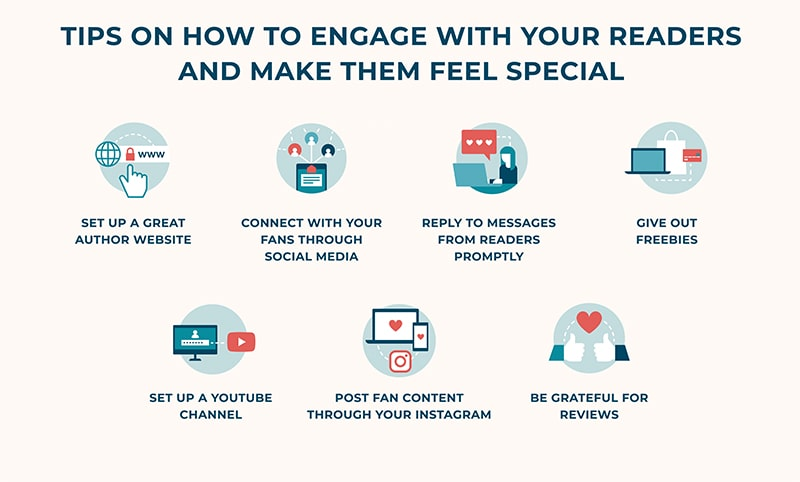 7 tips on how to engage with your readers