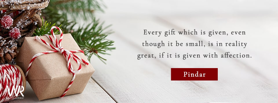 pindar christmas quote