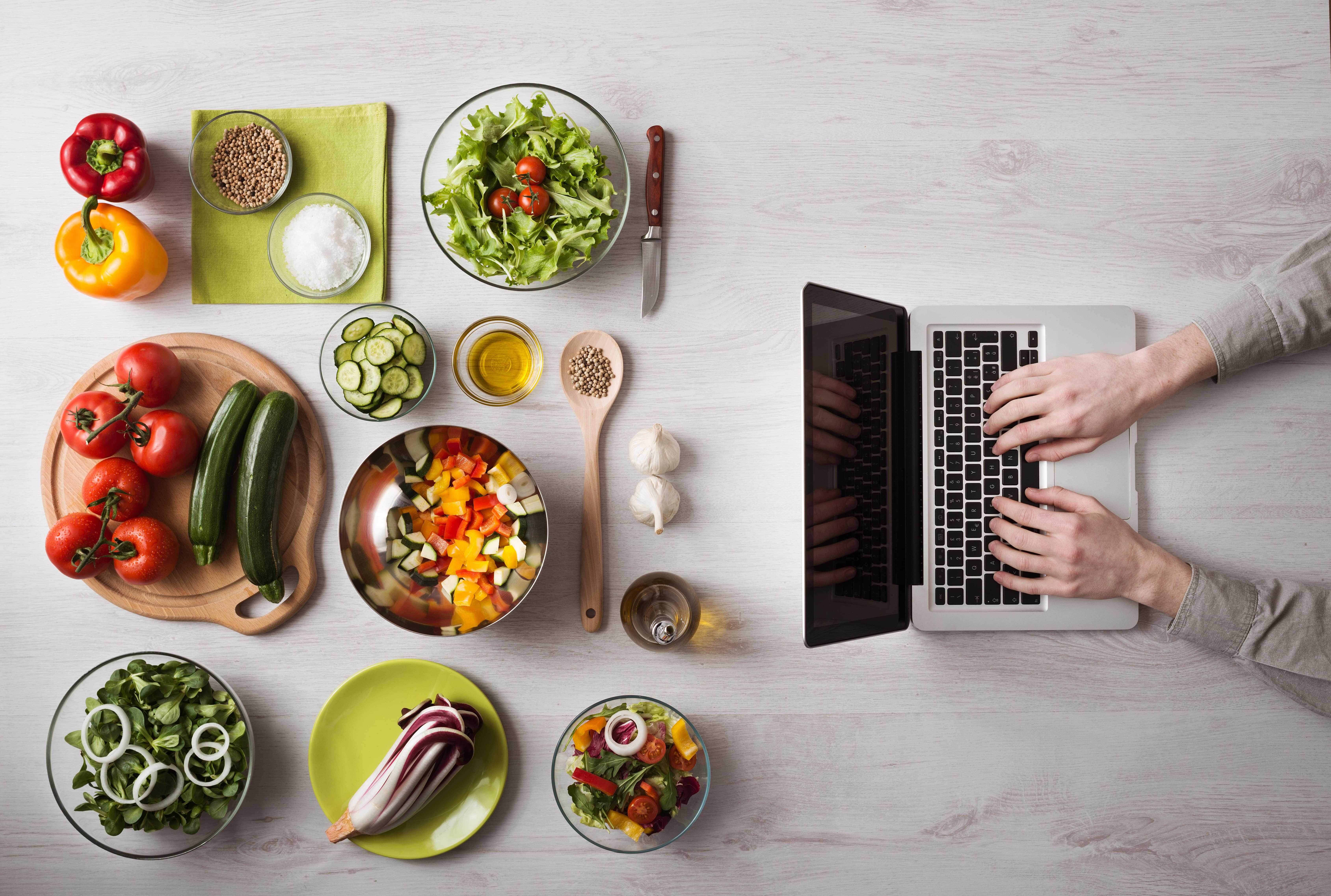 write about food