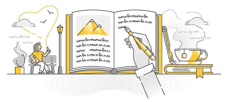writing-a-book-description