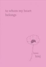 to whom my heart belongs