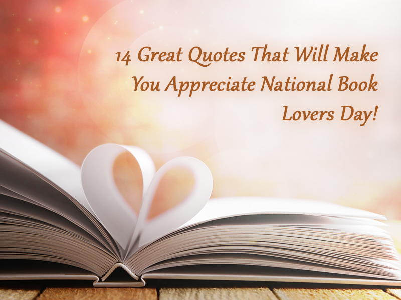 national book lovers day quotes