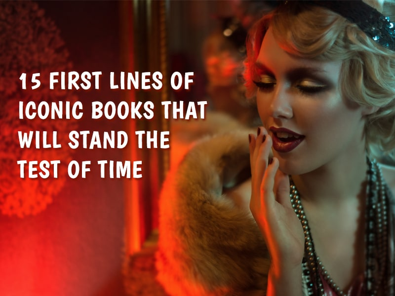15 first lines of iconic books - featured image