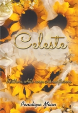 Celeste: Feathers, white roses and sunflowers