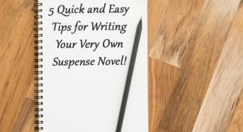 tips for writing suspense novel