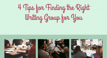 tips for finding a writing group