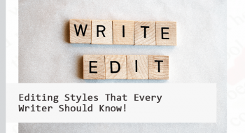 editing styles for writers