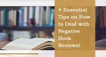 how to deal negative book reviews
