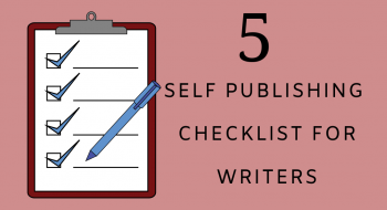 self-publishing checklist for writers