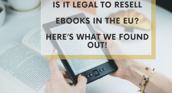is it legal to resell ebooks in the EU