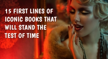 15 first lines of iconic books