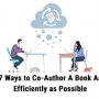ways to co-author a book