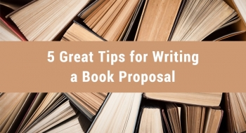 tips for writing a book proposal