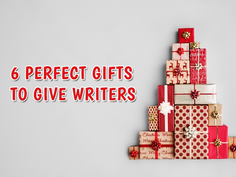 Christmas gifts for writers - featured image