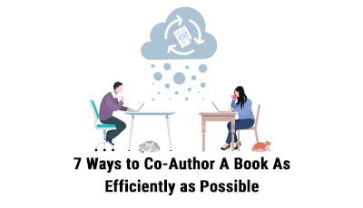 ways to co-author a book - featured image