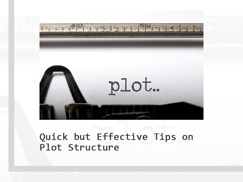 tips on plot structure