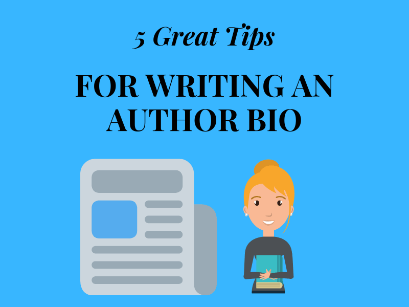 tips for writing an author bio