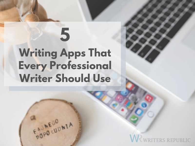 writing apps for writers